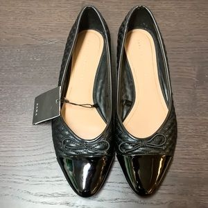 ZARA Quilted Flats